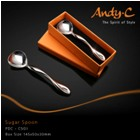 Andy C Pod Chrome Sugar Spoon