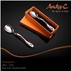 Andy C Pod Chrome Teaspoon