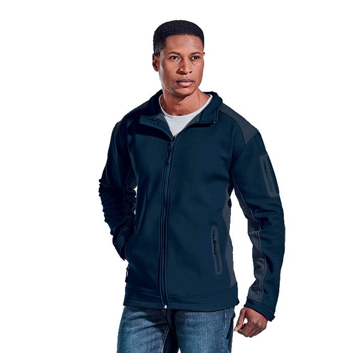 Barron Mens Pegasus Jacket - Avail in: Black/Granite, Navy/Grani