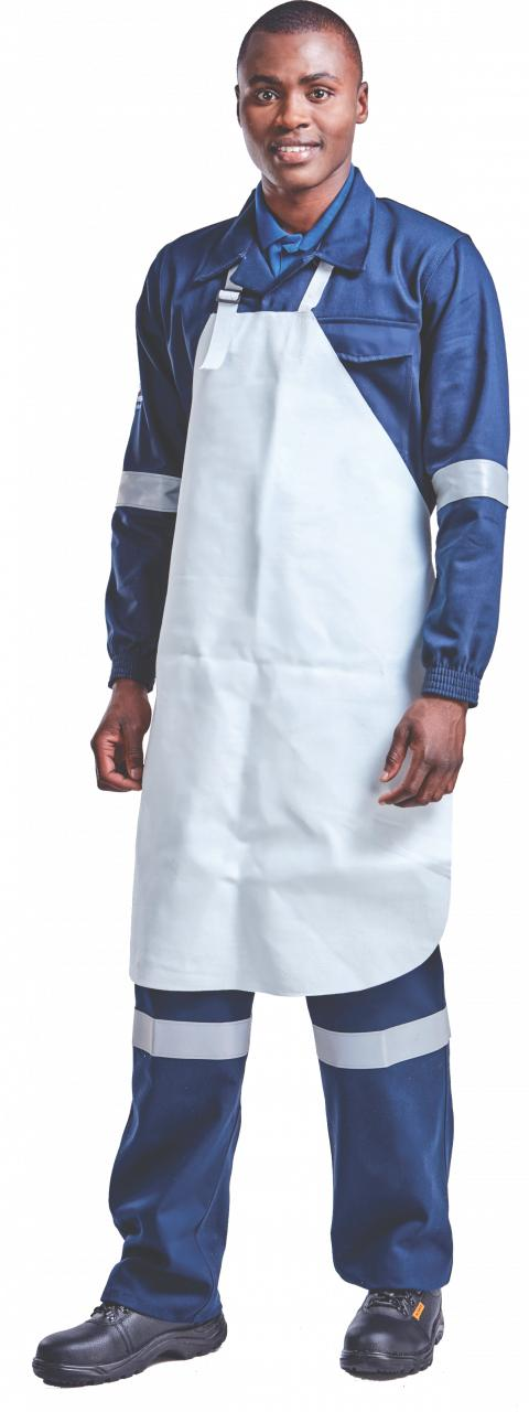 Apron Chrome Leather 60 X 90