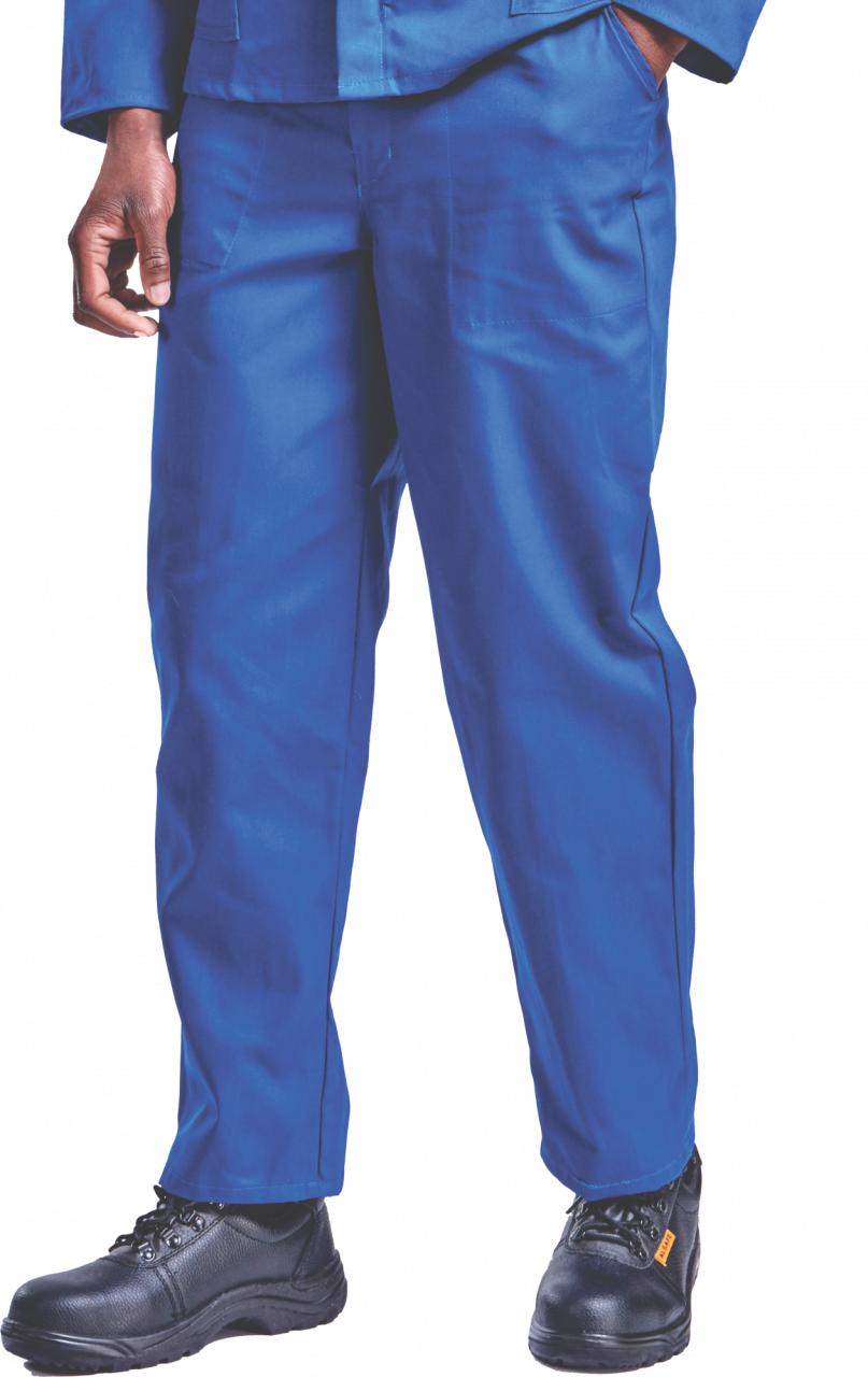 Conti Suit Trousers Poly Cotton. Avail in Black, Khaki, White, G