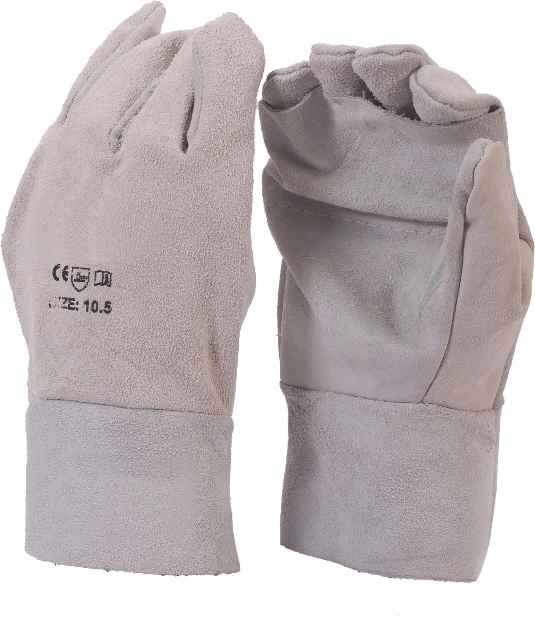 Leather Glove Leather Apron Palm 8 inch