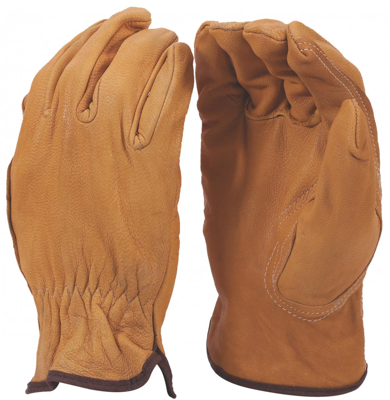 Leather Glove Tig Welding Yellow/Beige