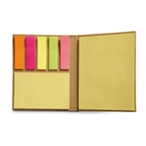 Recycled sticky note pad        -Available in: Beige