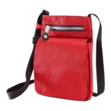 Passport and document holder - 420D Nylon  -Available in: Red-Or