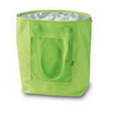 Foldable cooler shopping bag 210T polyester with aluminium foil