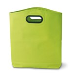 Shopping bag with oval PVC handle - 600D polyester -Available in