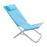 Beach chair with pillow -Available in: Blue-Orange