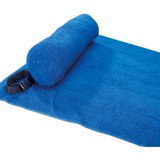 Beach towel with pillow -Available in: Orange-Royal blue-Lime