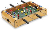Football table game, self assembled with six players on each sid