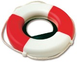 SOS buoy plastic bottle opener. - Available in: White