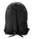 AZO free rucksack /  backack. Black polyester with on the front