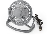 USB desk fan. - Available in: Grey, White and Black