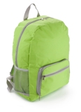 600d Polyester rucksack /  backack with one front zipped pocket,