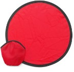 Foldable 170T nylon frisbee supplied in a nylon pouch, size unfo