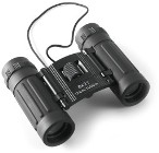 Aluminium and rubber binoculars with an 8 x 21 magnification, su