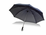 Umbrella with eight 190t polyester fabric panels, aluminium shaf
