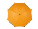 Sports umbrella with eight 210t polyester fabric panels and a bl
