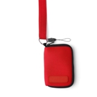 Neoprene carry case for an MP3 player/phone with head phone outl