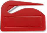 Promotional plastic letter opener. - Available in: Cabalt blue,