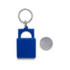 Key and coin holder suitable for a € 1.00 or € 0.50. - Available