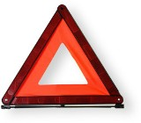 Warning safety triangle certified to EN417, durable light and co