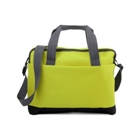 Document/shoulder bag made from 600d polyester with one zipped m