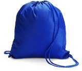 Drawstring rucksack /  backack in a 190t polyester material.  -
