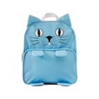 Children's animal shaped school bag with front zipped pocket
