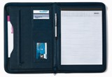 A4 Zipped PU conference folder, excludes note pad (item code 840