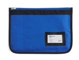 Zipped 600d polyester document case with a business card holder.