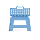 Foldable plastic steps with anti slip surface.