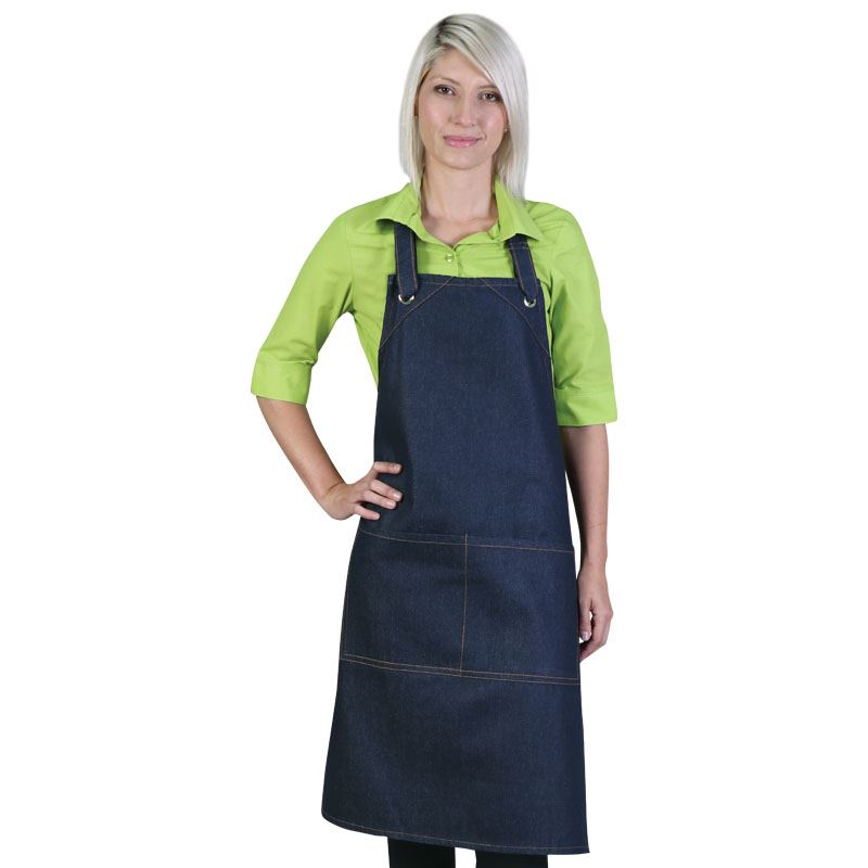 Utility Apron - Avail in: Navy, White, Black, Red, Denim