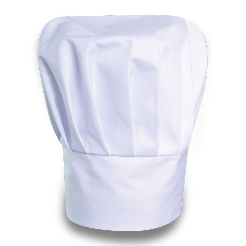 Chef Hat - Avail in: Black, white