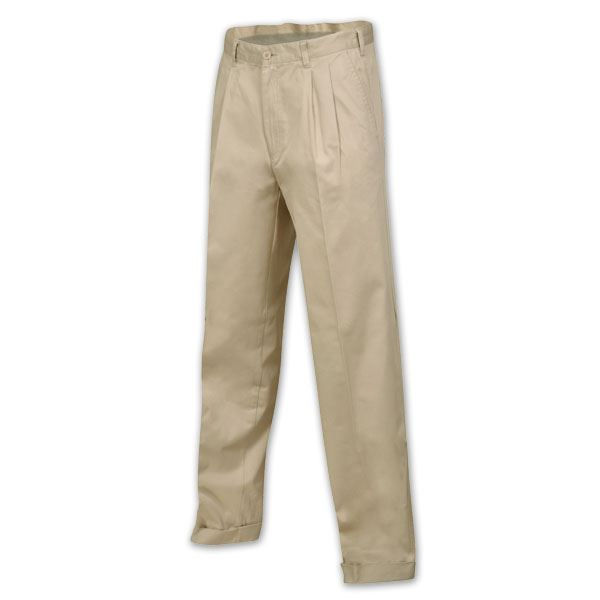 Polycotton Chinos - Avail in: Sand, Navy, Black, Khaki