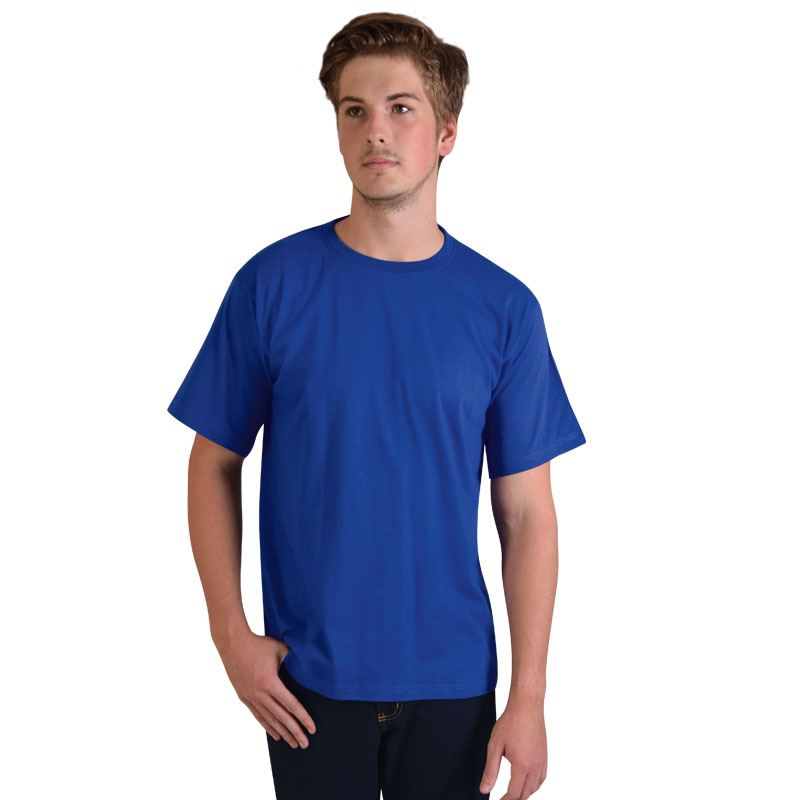 170g Combed Cotton Crew-neck T-shirts - Avail in: Navy, Bottle,