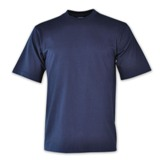 190g Super Cotton Crew-neck T-shirts - Avail in: Navy, Black