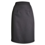 Didi Stripe Skirt - 60cm - Avail in: Charcoal Stripe
