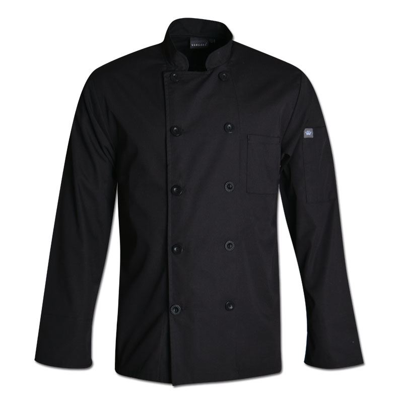 Gordon Chef Jacket - Avail in: Black, white
