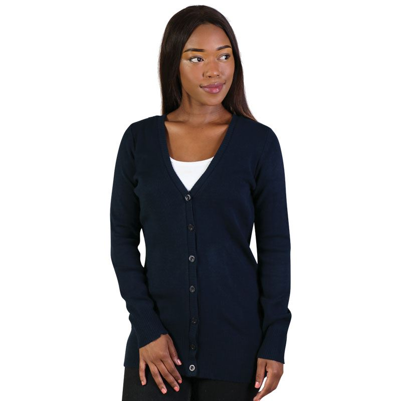 Kelly Cardigan - Avail in: Black, Navy, Charcoal