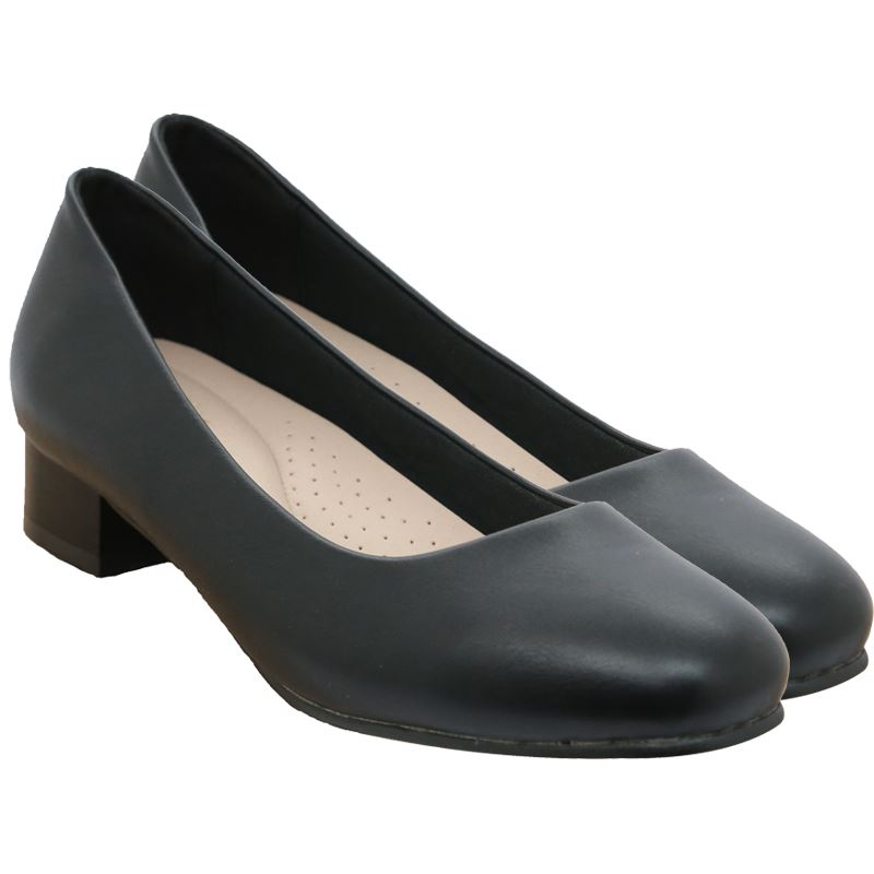 Bata Ladies Closed Heel Court - Avail in: Black, Navy