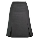 Lize Skirt - 60cm - Avail in: Charcoal Melange