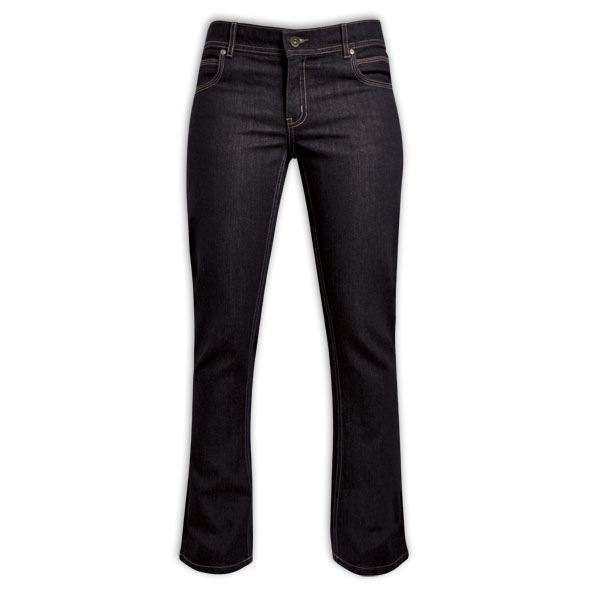 Ladies Denim Jeans - Avail in: Dark Blue Denim, Black Denim