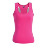 Ladies Racerback Top - Avail in: Black ,White, Hot Pink, Red