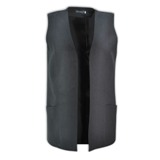 Lulu Gilet - Avail in: Charcoal Melange