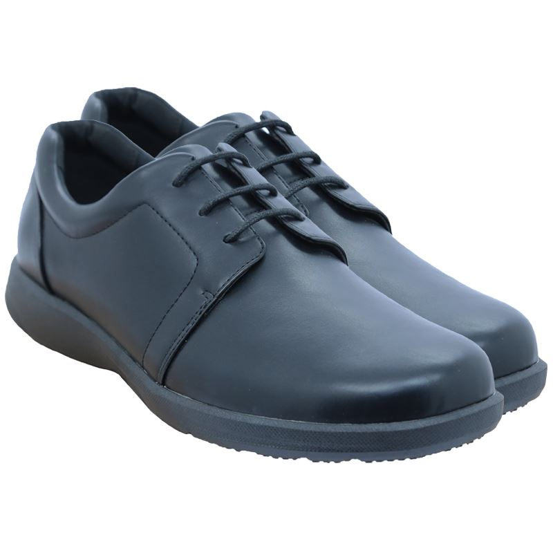 Bata Mens PU Lace Up - Avail in: Black