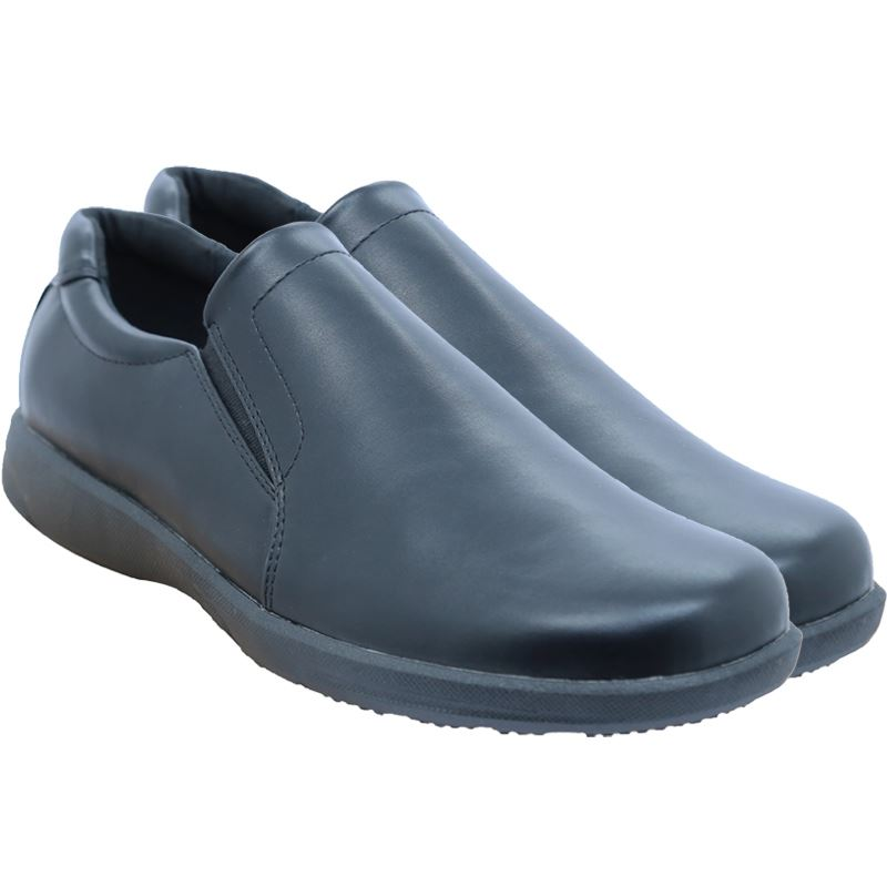 Bata Mens PU Slip On - Avail in: Black