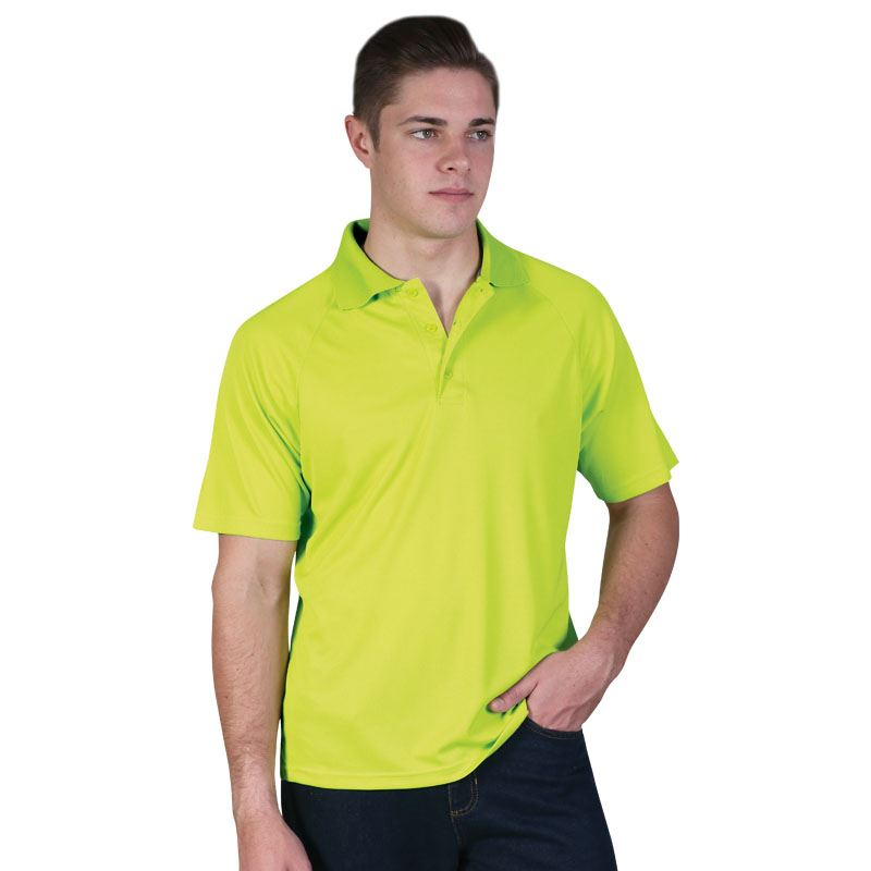 Classic Sports Polo - Avail in: White, Red, Navy, Black, Lime