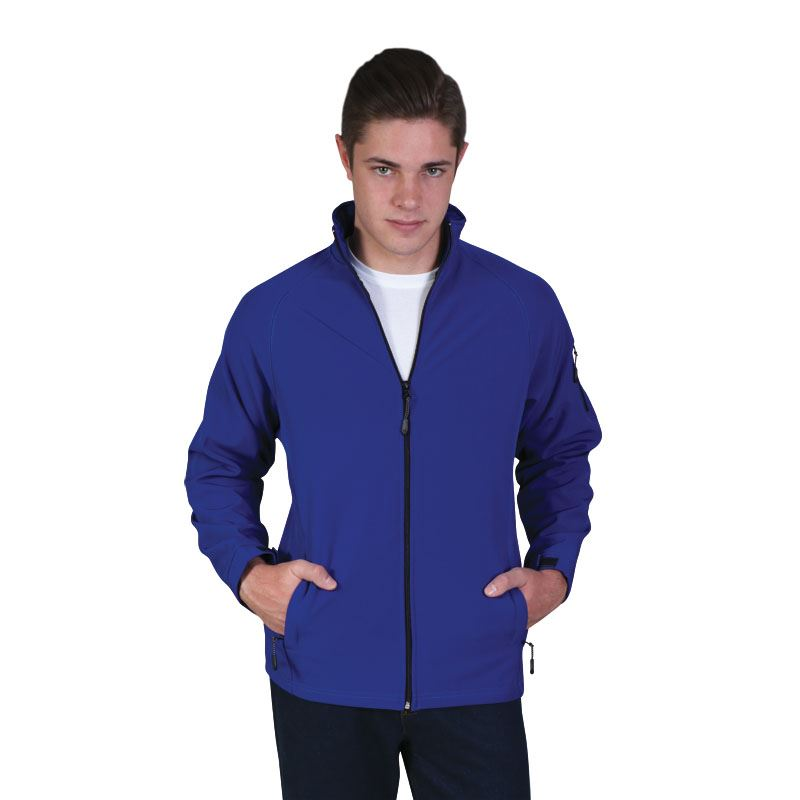 Classic Softshell Jacket - Avail in: Black, Navy, Red, Olive, Ro