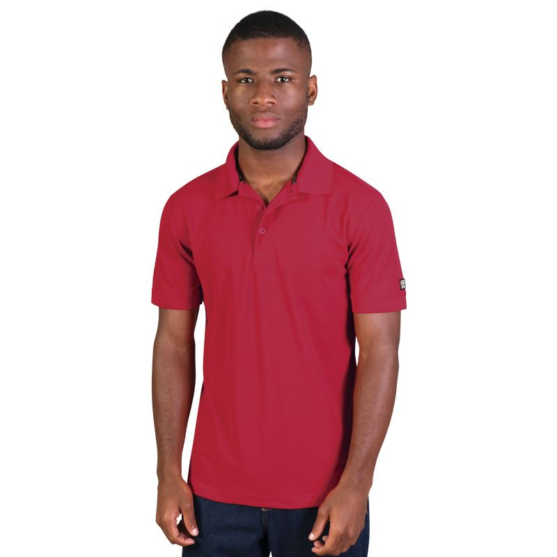 Calibre 2.0 Polo - Avail in: Signal Red